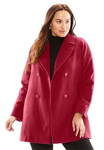 Jessica Fully Lined Peacoat - 3