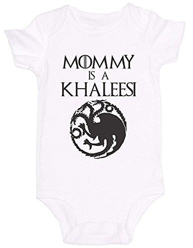 Promini Cute Baby Onesie - Mommy is A Khaleesi - Baby Bodysu