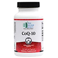 Ortho Molecular Products COQ-10 Soft Gel Capsules, 120 Count
