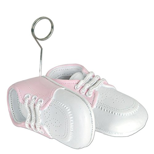 Set of 6 Baby Girl Shoes Photo Holder/balloon Weight Baby Shower -