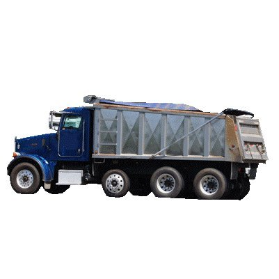 Xtarps - 7' x 16' Premium Dump Truck Tarp - Heavy Duty, Industrial (Dump Tarp)