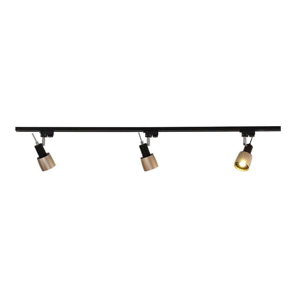 LEI ZE JUN UK- Focos de escaparate nórdicos sencillos Luces de riel montadas Salón de muestras Focos de sala de estar Iluminación de fondo Focos de techo Tienda de ropa Lámparas lámpara de pared