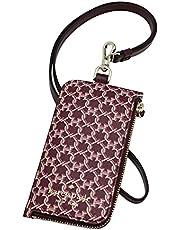 Kate Spade New York Spade Link Card Case Lanyard Card Holder Pink Multi