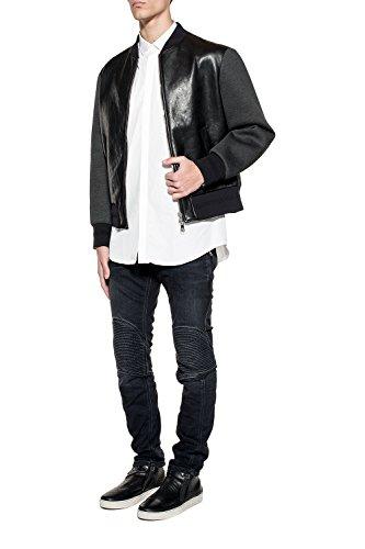 Neil Barrett Homme Pbde163e800t548 Noir Coton Jeans