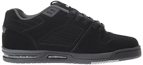 Skateboarding Black Adulto Zapatillas Unisex black Globe de Fury qt7tBf