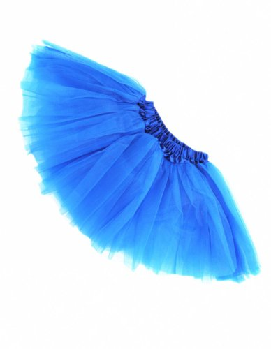 Buenos Ninos Girl's Tutu Assorted Colors (Royalblue) One Size ()