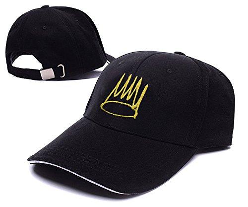 J.Cole Born Sinner Logo Adjustable Baseball Caps Unisex Snapback Embroidery (Sinner Cap)