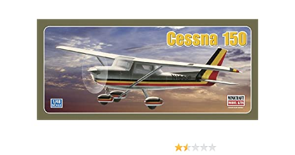 Amazon com: Minicraft Models Cessna 150 1/48 Scale: Toys & Games