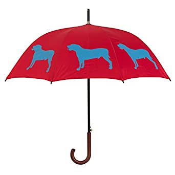 """American Pit Bull Terrier Blue on Red 34.5"""" long X 48"""" arc canopy"""