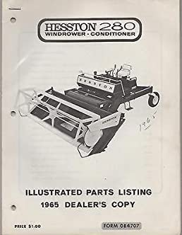 Hesston swather manual car owners manual 1965 hesston 280 windrower conditioner form 084707 parts manual 704 rh amazon com hesston 6550 swather manual hesston 8400 swather manual ccuart Images