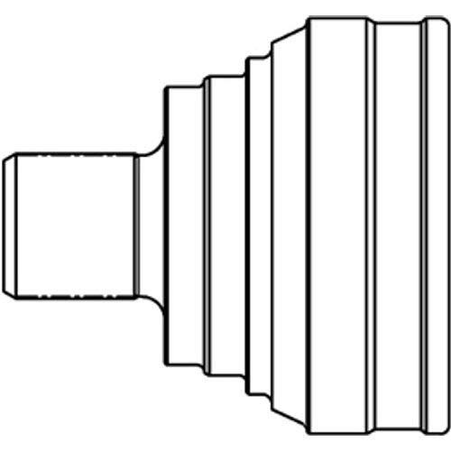 GSP Radlagersatz Vorderachse GK3645