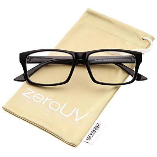01 Eyeglasses Black Frame - 6