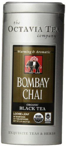 Octavia Tea Bombay Chai (Organic, Fair Trade Black Tea), 2.51 Ounce