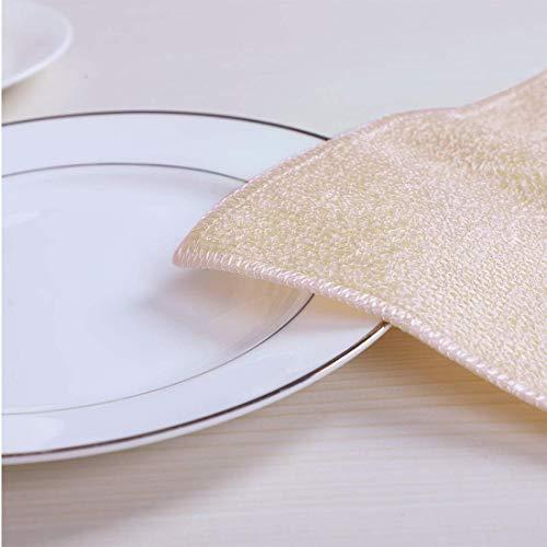 Amazon.com: ZCHXD 4pcs Cleaning Cloth Best Microfiber Dish Towels, 9 ...