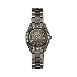 Caravelle New York Women's 45M110 Swarovski Crystal  Stainless Steel  Watch