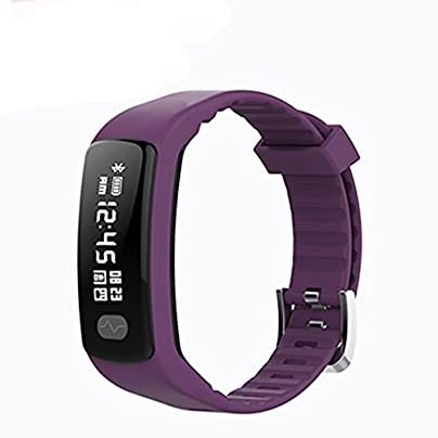 LL-Fitness Bracelet Sports Electrocardiogram Blood Pressure Heart Rate bluetooth Fitness Wristband Bracelet for ios Android Estimated Price £66.00 -