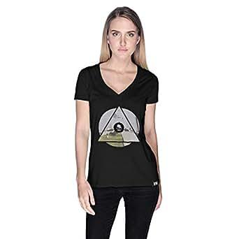 Creo Pakistan T-Shirt For Women - L, Black