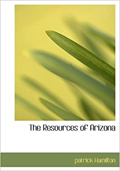 Book The Resources of Arizona