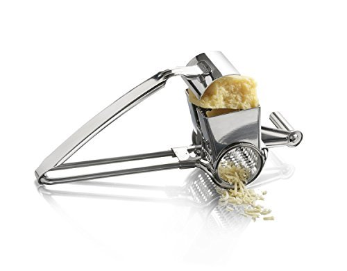 KITCHENMATE Stainless Steel Rotary Cheese (Craft Grater)