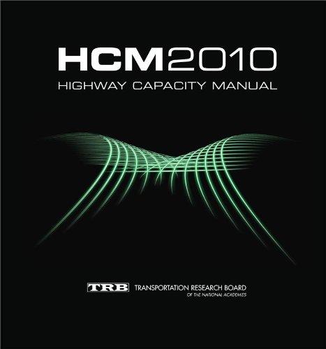 Highway Capacity Manual: HCM 2010 (3 Volume Set)