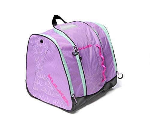 Kulkea Speed Star - Kids Ski Boot Bag, Lavender/Pink/Green (Pink Bag Snowboard)