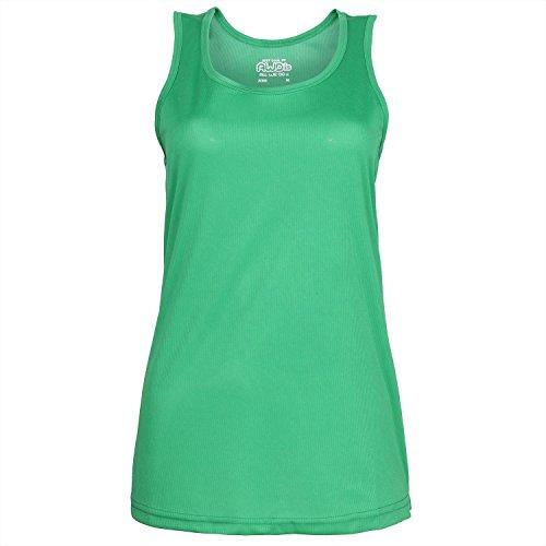 Just Cool Modelos Girlie Vest Verde - Kelly Verde