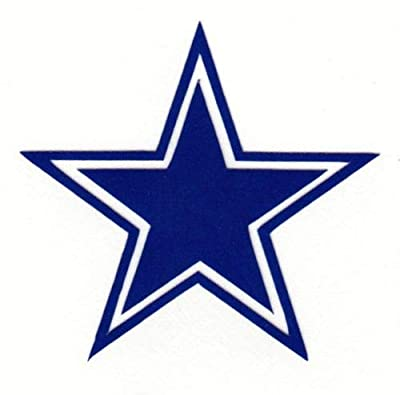 Reflective Dallas Cowboys Helmet Decals Motorcycle Hard Hat Sticker RTIC Truck Car Bumper Dallas Cowboys Star Decal
