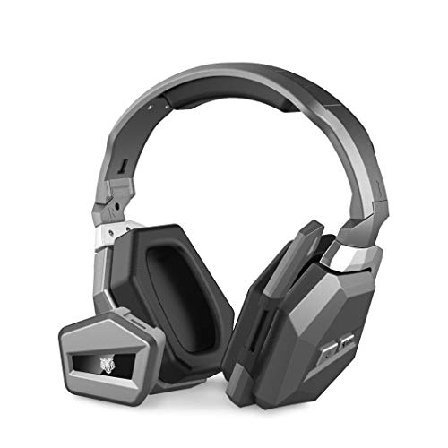 NOVPEAK 2.4Ghz Optical Vibration Wireless Gaming Headset Stereo Headphones for Xbox one/Xbox 360/PS4/PS3/PC/MAC/WII/TV - Xbox Wireless 360 Headsets