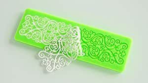 AmaranTeen - Seconds kil silicone mold lace cake molds fondant tools
