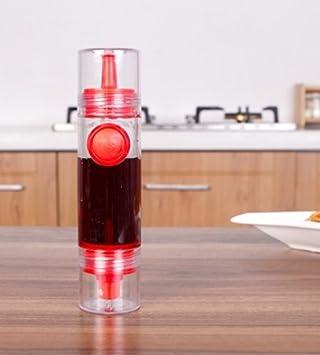 sunwon® Nuevo 2 en 1 cocina pulverizador de aceite de oliva dispensador de juego de
