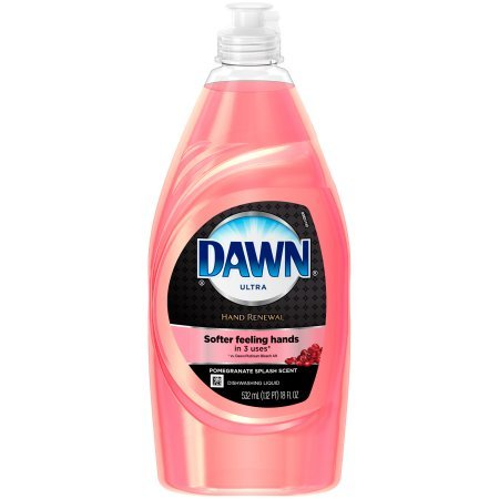Dawn Ultra Hand Renewal Pomegranate Splash Scent Dishwashing Liquid, 18 fl oz 2 Pack (Dawn Dishwashing Liquid Olay)