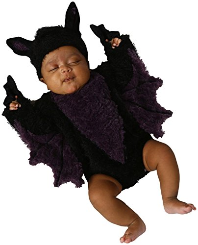 [Princess Paradise Baby's Blaine The Bat, Black, 3 to 6 months] (Top 2016 Toddler Halloween Costumes)
