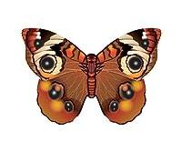 "WindNSun Microkite Mini Mylar Butterfly 4.7"" Buckeye Kite"