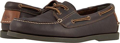 Dockers Men's Vargas Boat Shoe Chocolate Oiled Tumbled Full Grain 7 D US