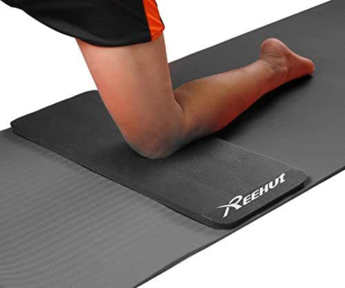 Reehut Yoga Knee and Elbow Pad Cushion - 15mm (5/8