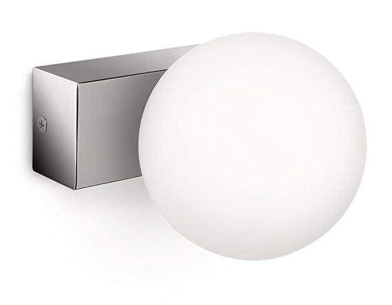 Philips mybathroom applique 1 lampadina: amazon.it: illuminazione