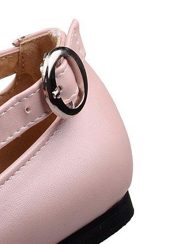 uk6 us8 5 Redonda Moda Vestido Oficina pink Cerrada 5 Zapatos ZQ Punta a de y pink Trabajo mujer Tac¨®n la 5 Punta eu39 eu39 cn36 uk4 eu36 Planos Botas us8 cn40 us6 blue Exterior uk6 Plano 5 qn1pg