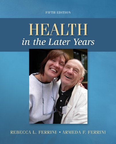 78028493 - Health in the Later Years