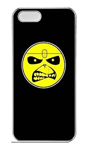 Rock Elements Customized Popular DIY Hard Back Case Cover For iPhone 5 5S Hard Transparent