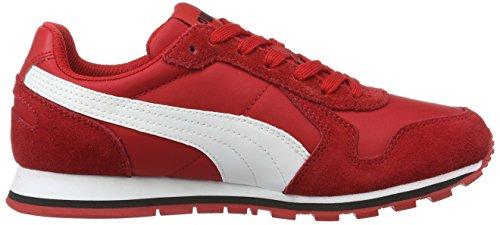 Puma St Runner Nl Jr, Zapatillas Unisex Niños Rojo (Barbados Cherry-puma White 15)