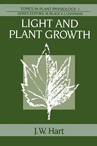 Light and Plant Growth (Topics in Plant Physiology) - Jw Pet Plant