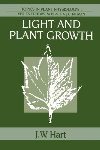 Light and Plant Growth (Topics in Plant Physiology)