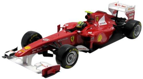 Hotwheels - Racing Mattel)–W1074–Fahrzeug Miniatur–Ferrari F150th Italia–F12011–f. Massa–Maßstab 1/18 Hotwheels - Racing (Mattel)