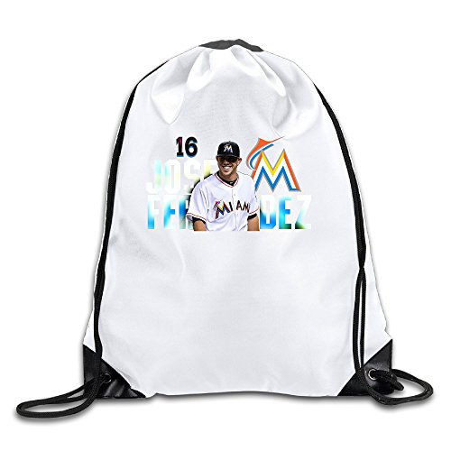 Bieshabi Jose Fernandez Drawstring Backpacks Bag Sack Bag