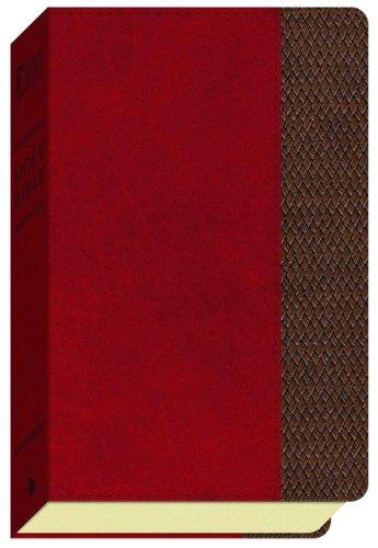 (GW Thinline Bible Saddle/Brown, Thatch Design Duravella)