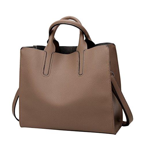 YiLianDa immagine Mano Donna in da a PU Borse come 7 Tracolla Pelle Handbag Borsa Bauletto con fwgTpqf