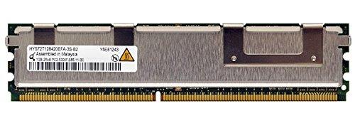 QIMONDA 1GB 240p PC2-5300 CL5 64x8 Fully Buffered ECC DDR2-667 FBDIMM MEMORY MODULE HYS72T128420EFA-3S-B2