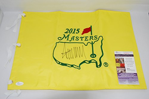 Donald Trump Hand Signed / Autographed The Masters Flag - Augusta National - JSA