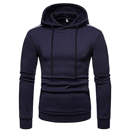 Corriee Fashion Tops for Men 2018 Autumn Winter Casual Long Sleeve Patchwork Hoodie Coat Sport Sweatshirt Blouse by Corriee Men Hoodies