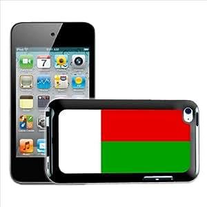 Fancy A Snuggle diseño de bandera de Madagascar carcasa rígida para Apple iPod Touch 4th generación